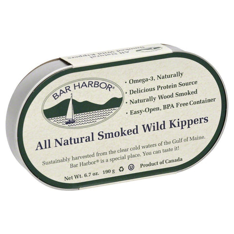 Bar Harbor Smoked Kippers 6.7 OZ(Pack of 3)