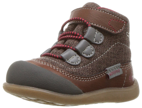 See Kai Run Kids Mens Sam WP (Toddler/Little Kid) 6 Toddler Brown