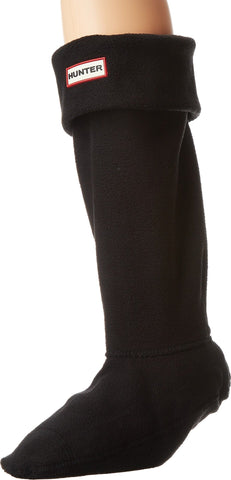 Hunter Women's Boot Socks LG (Women's Shoe 8-10) Black