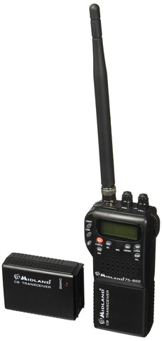 Midland 75-822 40 Channel CB-Way Radio Standard Packaging