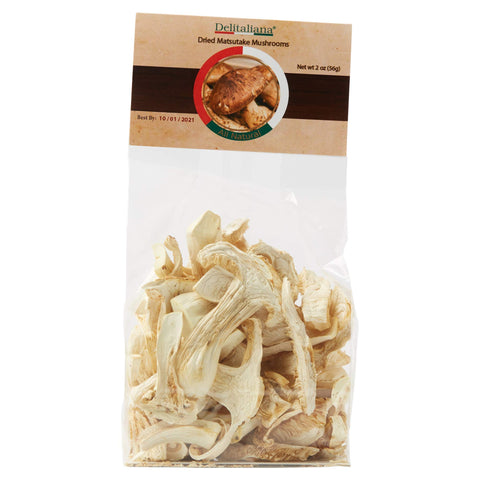 Dried Matsutake Mushrooms 2 Ounce