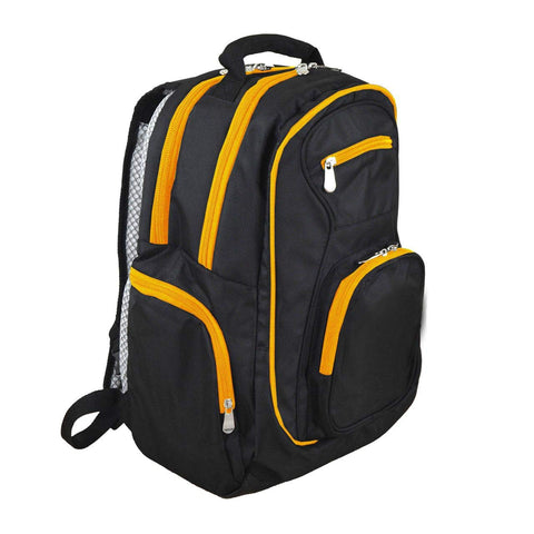 Denco NHL Colored Trim Premium Laptop Backpack, 19-inches Anaheim Ducks