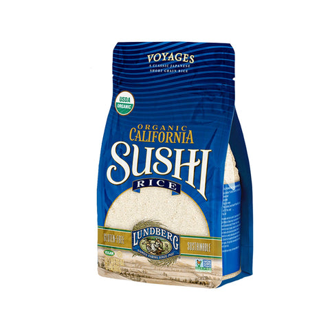 Lundberg California Sushi Rice, 32 Ounce, Organic 32 Ounce (Pack of 1)