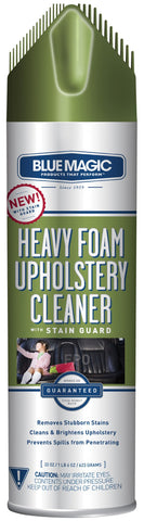 Blue Magic 914 Heavy Foam Upholstery Cleaner with Stain Guard - 22 oz. 22 Ounce