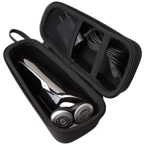 Hard Travel carrying Case for Philips Norelco Electric Shaver 4500 AT830/46 9700 S9721/89 5570 S5572/90 by Aproca (Black-Promotion) Black-Promotion