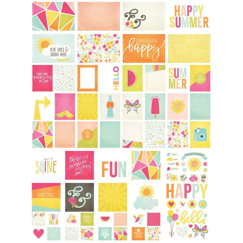 Sn@P! Card Pack 122/Pkg-Sunshine & Happiness