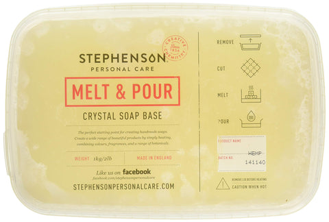 Stephenson STEP-Hemp-2PK Soap Base, Light Brown