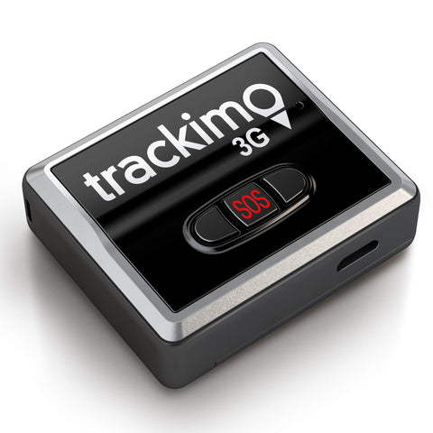 GPS Tracker - Trackimo 3G Universal & 1 Year GSM Service - Keep your valuables & loved ones safe