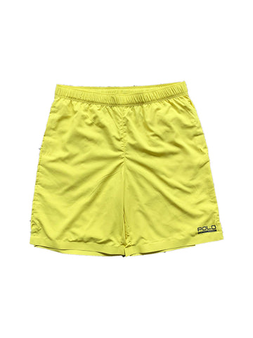 Polo Ralph Lauren Performance Boys Swim Short Large (14-16) Yellow