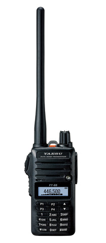 Yaesu Original FT-65 FT-65R 144/440 Dual-Band Rugged & Compact Handheld Transceiver, 5W - 3 Year Warranty