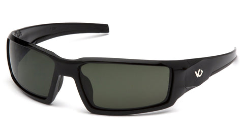 Venture Gear Pagosa Glasses with Anti-Fog Lens Forest Gray Lens Black Frame
