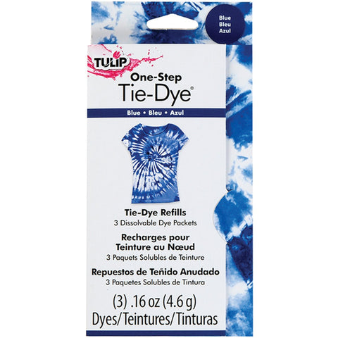 Tulip 29034 One-Step Dye Refills Blue 1 Pack