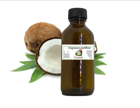 Coconut Fragrance Oil 2 ounces 2 oz
