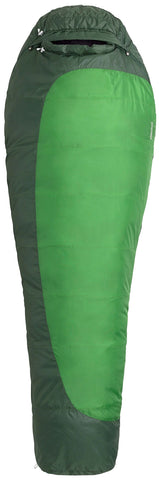 Marmot Trestles 30 Mummy Sleeping Bag, 30-Degree Rating Green Trestles 30 Reg