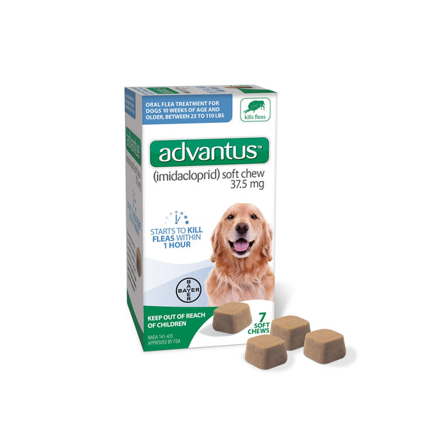 Advantus  Soft Chew 7 Soft Chew Large: 23 - 110 lb