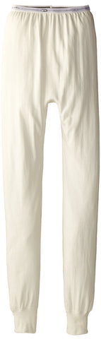 Duofold Boys Light Weight Double Layer Thermal Pant Winter White X-Small
