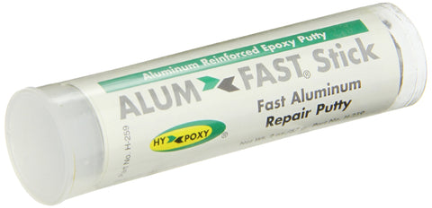 Hy-Poxy H-259 Alumfast Rapid Cure Aluminum Filled Epoxy Putty, 2 oz Stick