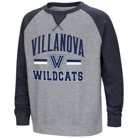 Colosseum Youth Villanova Wildcats Fleece Crewneck Sweatshirt Large (16/18)