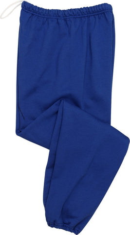 Jerzees 973B Youth 8 oz. 50/50 Sweatpants Large Royal
