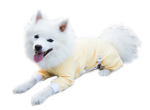 Cover Me by Tui  Adjustable Fit Step-into with Long Sleeve for Pets, XX-Large, Yellow