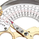 YaeTek Scissor Type Ring Compass Hand Held Milliners Sizer Cap Hat Size Measuring Tools 6 1/8 US to 7 3/4 US