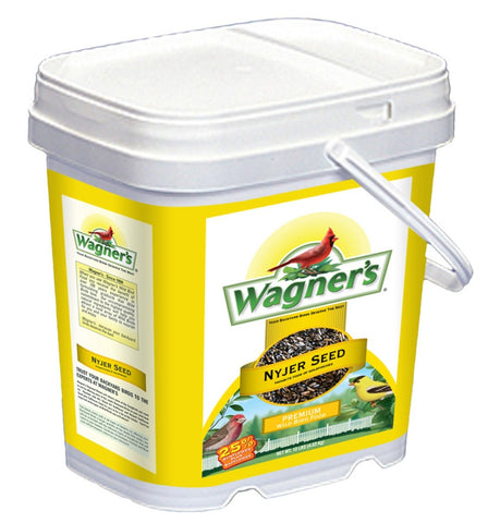 Wagner's 42050 Nyjer Seed Bird Food Bucket, 7-Pounds 7-Pound Bucket