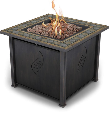 Bond 034613681561 Rockwell 68156 Gas Fire Table, 30 , Brown