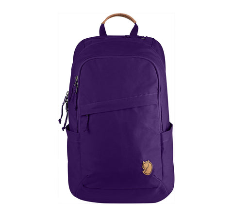 Fjallraven - Raven 20 Backpack, Fits 15  Laptops Purple