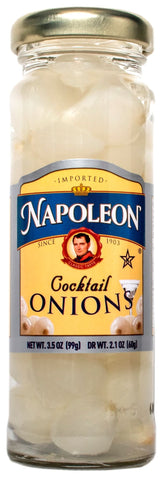 Napoleon Cocktail Onions, 3.5 Ounce (Pack of 12)