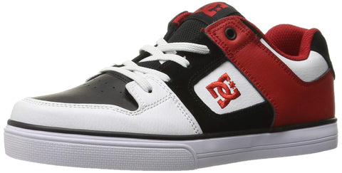 DC Shoes Boys Shoes Boy's 8-16 Pure Elastic Se Slip On Shoes Adbs300222 Little Kid (4-8 Years) 12 Little Kid Red