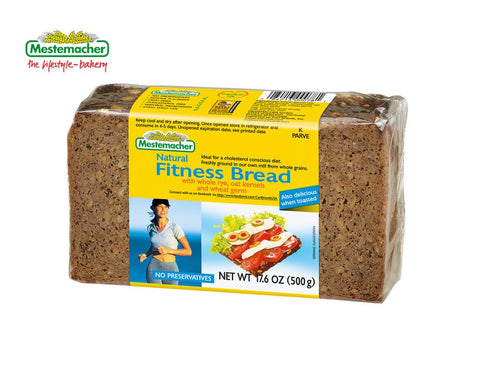 Mestemacher Fitness Bread - 17.6 Oz ( Pack of 6)