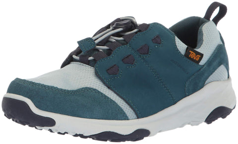 Teva Kids' Arrowood 2 Low Wp Hiking Shoe Big Kid (8-12 Years) 6 Big Kid Atlantic Deep