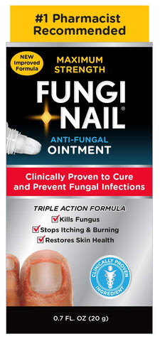 Fungi-Nail Anti-Fungal Ointment, 0.7 Ounce - Kills Fungus That Can Lead To Nail Fungus & Athlete's Foot w/ Tolnaftate & Clinically Proven to Cure Fungal Infections 0.7 ounces