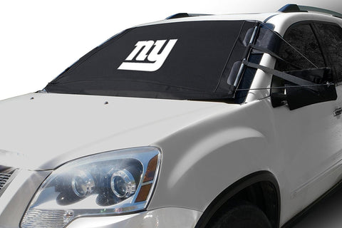 "FrostGuard NFL Premium Winter Windshield Cover for Snow, Frost and Ice - Cold Weather Protection for Your Vehicle – New York Giants, Standard Size Standard – 60"" x 40"""