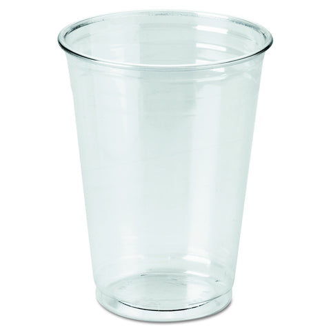 Dixie 10 oz. PETE Plastic Cup by GP PRO (Georgia-Pacific), Clear, CP10DX, 500 Count (25 Cups Per Sleeve, 20 Sleeves Per Case) 500ct
