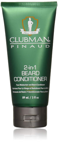Clubman Pinaud Beard 2-In-1 Conditioner 3 oz. (Pack of 3)