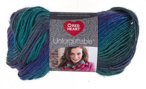 Red Heart Yarn Boutique Unforgettable Yarn 3935, Dragonfly