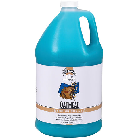 Top Performance Oatmeal Dog and Cat Shampoo, 17-Ounce Gallon