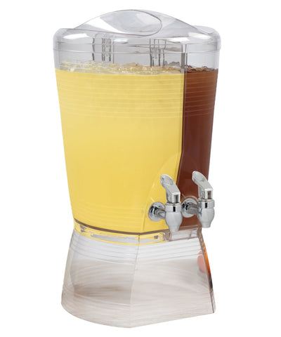 CreativeWare Double Beverage Dispenser with 2 Spouts