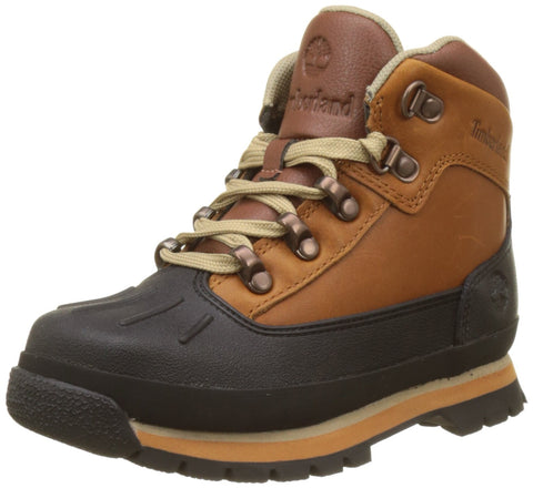 Timberland Kids' Euro Hiker Shell Toe Fashion Boot Big Kid (8-12 Years) 6.5 Big Kid Claypot