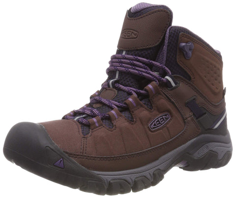 Keen Women's Targhee Exp Mid Wp French Roast/Purple Plumeria 6 M US