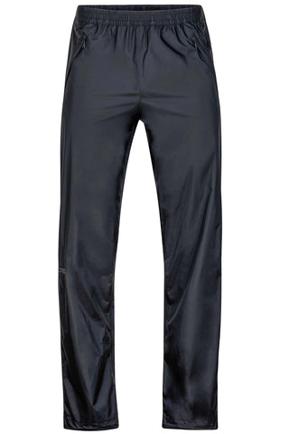 Marmot Men's Precip Full Zip Pant Black Small 34