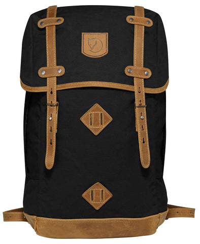 "Fjallraven - Rucksack No. 21 Large Backpack, Fits 17"" Laptops Black"