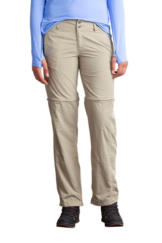 ExOfficio Men's BugsAway Sol Cool Ampario Convertible  Pants - Insect, Tick, Mosquito Repellent Permethrin Clothing Tawny 16