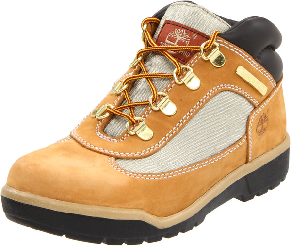 Timberland Field Lace-Up Boot (Toddler/Little Kid/Big Kid) Wheat Little Kid (4-8 Years) 4.5 Big Kid