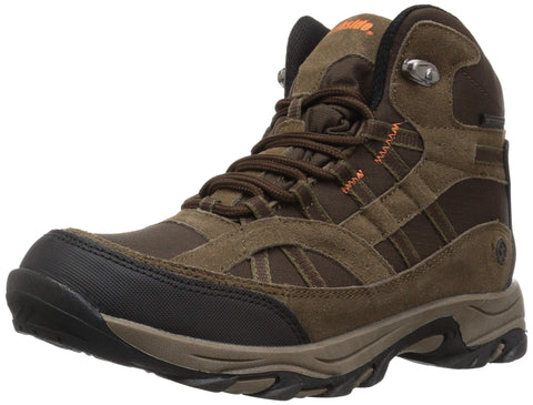 Northside Kids' Rampart Mid Waterproof Hiking Boot Little Kid (4-8 Years) 3 Little Kid Medium Brown