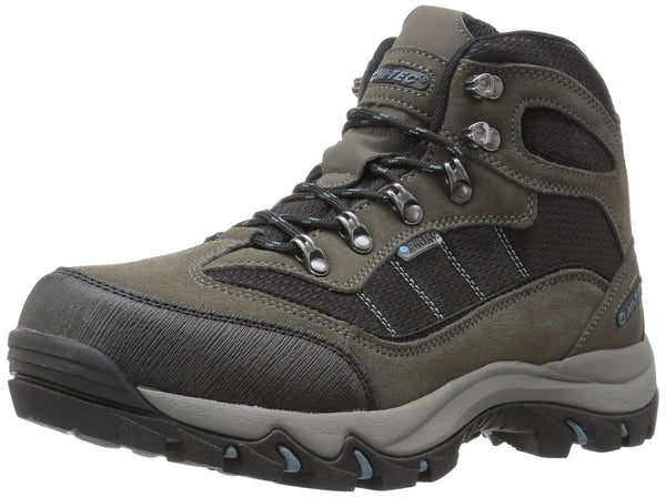 Hi-Tec Men's Skamania Mid Waterproof Hiking Boot Gull Grey/Black/Goblin Blue 12 M US