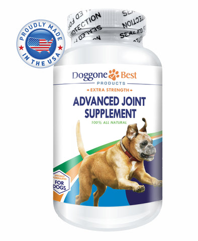 Glucosamine for Dogs - All Natural Glucosamine, Chondroitin, MSM & Tart Cherry Is The Best Joint Supplement To Relieve Hip & Joint Pain - Tasty Chewable Tablets Your Dog Will Love - Made in the USA