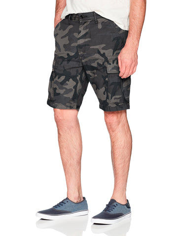Levi's Men's Carrier Cargo Short 38 Black Camo - Back Satin