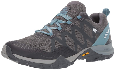 Merrell Women's Siren 3 Waterproof Hiking Shoe Blue Smoke 7